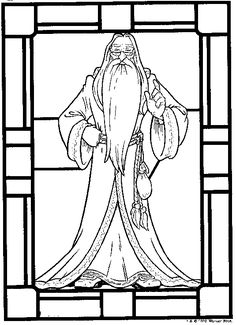 coloring page Harry Potter - Harry Potter