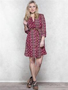 zoom image of Floral Belted Dress