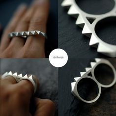 Forget Brass Knuckles... all I need is this wonderful ring.