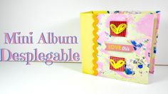 Mini Álbum Desplegable - Estructura | Scrapbooking | Mundo@Party