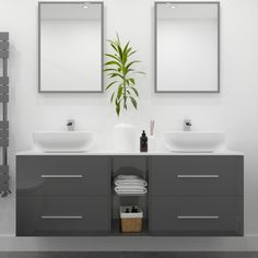 Sonix 1500 Glass Top Double Wall Hung Vanity Storage Unit Inc Basins And Taps Buy Online At Bathroom City Wet Room Bathroom, Bathroom Vanity Units, Wall Hung Vanity, Bathroom Ideas, Tall Basin Taps, Double Vanity Unit, City Bathrooms, Bathroom Essentials, Bathroom Interior Design