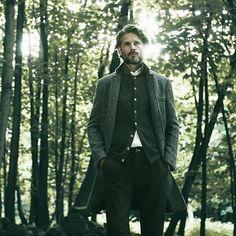 Emmerdale star Noah Huntley is all grown up in Jigsaw fashion campaign Harris Tweed, Sharp Dressed Man, Well Dressed Men, Tweed Overcoat, League Of Gentlemen, Gentleman's Wardrobe, Winter Warmers, English Style, Gentleman Style