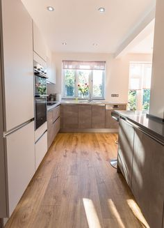C&C Kitchens have designed & installed beautiful, bespoke kitchens to North London, Essex & Hertfordshire for 20 Years. See our German Kitchens & Kitchen In, German Kitchen, Kitchen Stuff, Kitchen Design, Kitchen Cabinets, Handleless Kitchen, Bespoke Kitchens, Moonlight, Grey