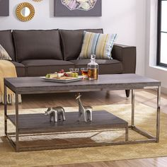 Mercury Row Epilson Coffee Table  With the animals too please