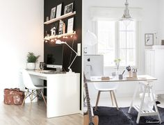 Agu Blog: Home office / wymarzone domowe biuro - garść inspiracji