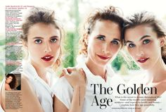 Margaret Qualley, Andie MacDowell & Rainey Qualley (1600×1084)