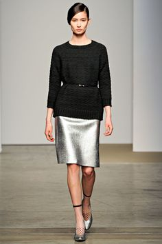 Metallics for day. Rachel Comey A/W 12