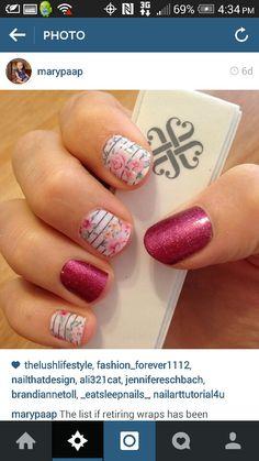 Feminine Flair and Raspberry Sparkle