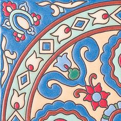 "#489 Catalina Circle , 6X6"" Ceramic Tile"