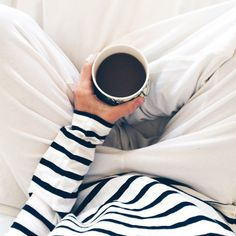 Oh yes! Love my coffee in bed. The days I can have this are few so I enjoy them.