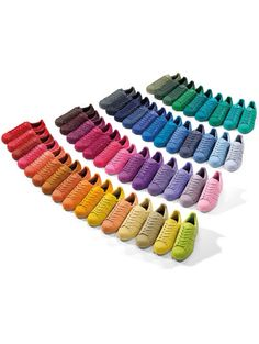 New super star Adidas Makes me happy so colorfull!!