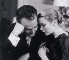 Prince Rainier of Monaco and Grace Kelly | More Grace Kelly lusciousness here: http://mylusciouslife.com/photo-galleries/entertainment-books-movies-tv-music-arts-and-culture/