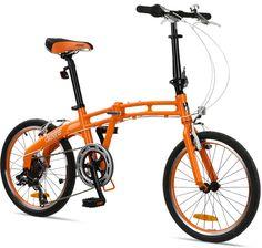 "Limited at 53% OFF - GOTHAM7 Citizen Bike 20"" 7-Speed Folding Bike with Alloy Frame #foldingbike #bike #bikedeal"