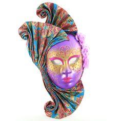 Incredible Purple Masquerade Mask - http://www.masquerademaskshq.com.au/shop/incredible-purple-masquerade-mask/