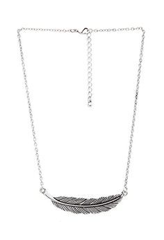 Free Spirit Feather Necklace | FOREVER21 - 1000072671