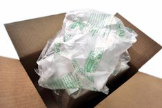 Image of an opened box with plastic air pillows coming out of it Amazon Orders, Plastic Packaging, Interesting Information, Bare Necessities, Mindful Living, Our Planet, Good Advice, Planets, Sustainable Living