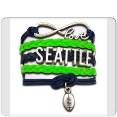 Seattle Football 4 in 1 Seahawks Fan Infinity by GridironCouture