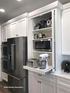 New Small Kitchen Decoration #kitchendecoration