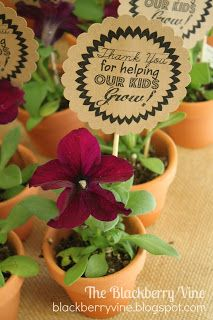 The Blackberry Vine: Teacher appreciation gift