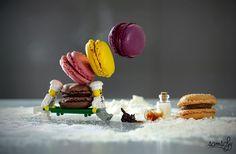 """Zucker marsch!  Ein besonders süßes Foto ist Samlal unter dem Titel """"Le jour..."""