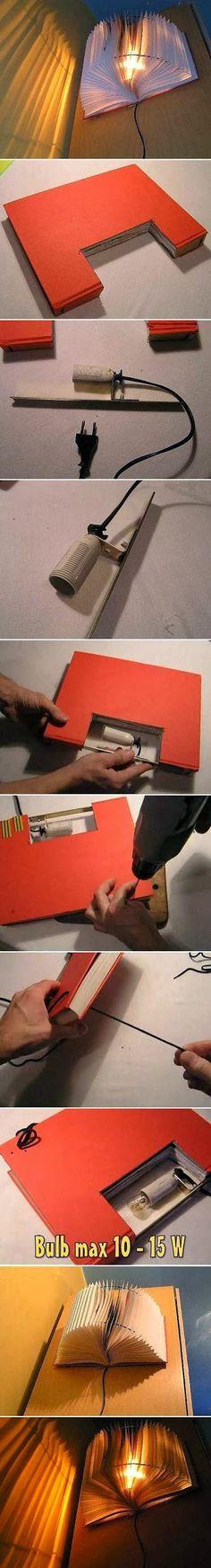 DIY Small Book Light