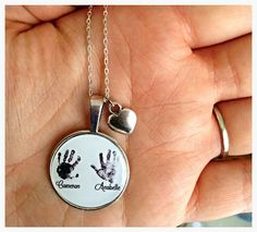 Beautiful actual real hand/ foot prints by TheLittlePrintsPage