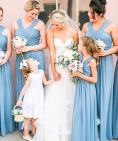 """4465ea3349 The Dessy Group on Instagram  """"Looking fabulous in style D678 in Larkspur!   dessyputadressonit  dessygroup  dessy  dessybridesmaids  bridesmaids ..."""