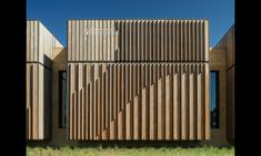 architecture facade timber results - ImageSearch Building Exterior, Building Facade, Building Design, Facade Architecture, Landscape Architecture, Facade Pattern, Building Skin, Wooden Facade, Timber Cladding