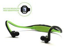 Auricular Deportivo Bluetooth con Brazalete WB-RUN