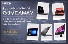 Laptop Mag - Win 1 of 5 Dell Back-to-School PCs - http://sweepstakesden.com/laptop-mag-win-1-of-5-dell-back-to-school-pcs/