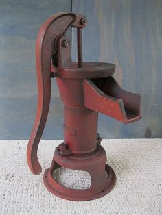 old water pump used as sink faucet I want this for my bathroom ...