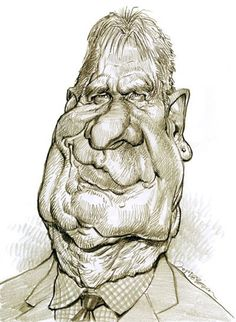 Harrison Ford, illustration of Jan Op DeBeeck