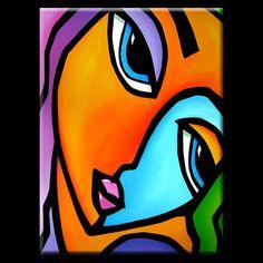 Le meilleur dans lart abstrait original, pop art, art moderne, sculptures et tableaux modernes. Grands tableaux à laide de couleurs vives et les lignes en gras qui vous font sourire.  Artiste : Thomas C. Fedro  TITRE : Plus que suffisant  TAILLE : 30 x 40 x 1 1/5 wrap Gallery  MÉDIUM : acrylique  SUPPORT : 100 % coton, toile de qualité musée  TENDU ET PRÊT À ACCROCHER  DATE : 2012 nouveau  Frais de port : Toutes les peintures expédiés USPS Priority Mail ou Fed Ex selon la taille. Je combinez…