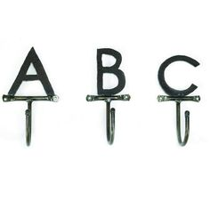 I want ALZ Lettered wall hooks. @Gatski