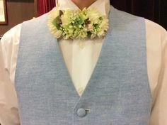 【人気のデニムオーダータキシード】 結婚式の新郎タキシード/新郎衣装はメンズブライダルへ