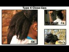 4A & 4B/C Natural Hair type upclose Reniece