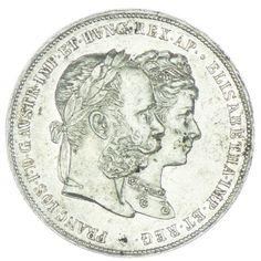 2 Gulden 1879 Silberne Hochzeit