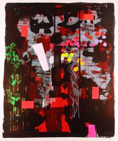 San Carigol 29 Monotype by Bruce McLean