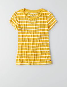AEO Tomgirl T-Shirt , Yellow | American Eagle Outfitters