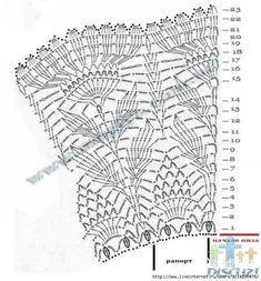 diagram for a leaf motif - can use it to make a lacy cowl or a shoulder-length poncho or even a skirt!! <3