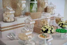 Wedding Candy Buffet | CatchMyParty.com