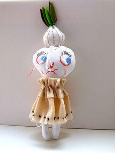 garlic girl * jess quinn small art