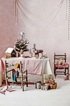 Pastel coloured Christmas