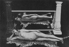 Aleister Crowley doing yoga