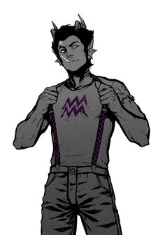 """""""Hey doll. You vwanna' have a little fun?"""" Cronus smirked, tugging on his suspenders, as he let out a soft chuckle."""