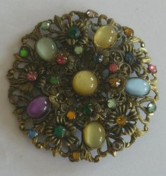 Art Deco Czech brooch in Jewellery & Watches, Vintage & Antique Jewellery, Vintage Fine Jewellery   eBay