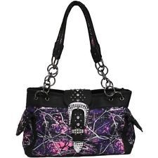 Women's Muddy Girl Concealed Handgun Purse Handbag Moonshine Camo - New