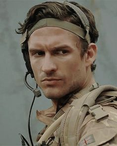 Ben Aldridge in Our Girl as  Captain James  via carolinefolbes