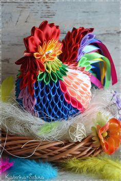 1 million+ Stunning Free Images to Use Anywhere Ribbon Art, Ribbon Crafts, Paper Crafts, Quilted Ornaments, Fabric Ornaments, Crafts To Sell, Diy And Crafts, Crafts For Kids, Cloth Flowers