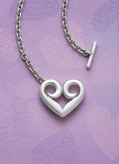 Heart Toggle Necklace from James Avery Jewelry #jamesavery